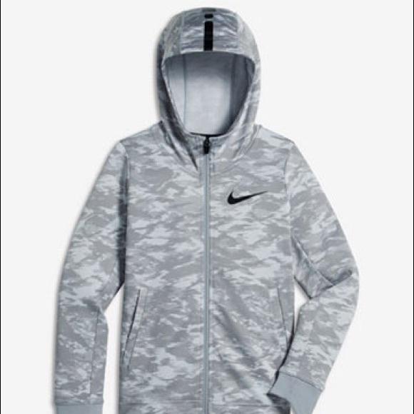 Boy/'s Youth Nike Therma Full-Zip Hoodie